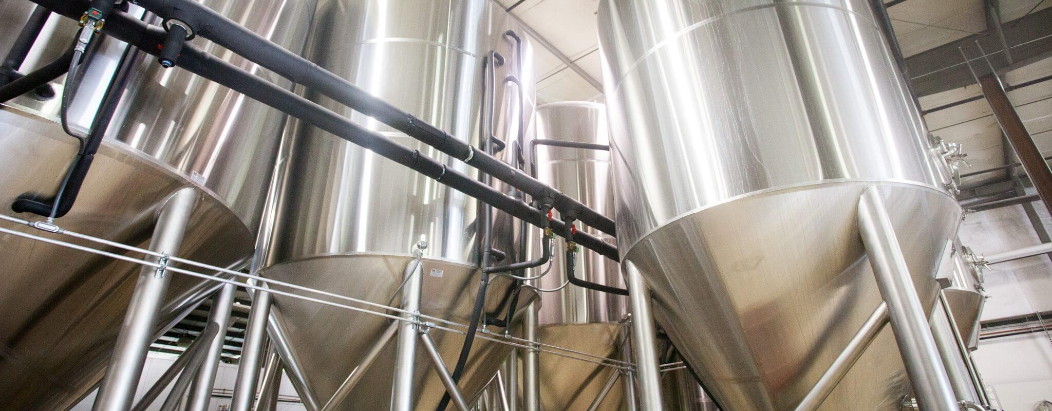 Brewing Bend, Oregon beer in brewery