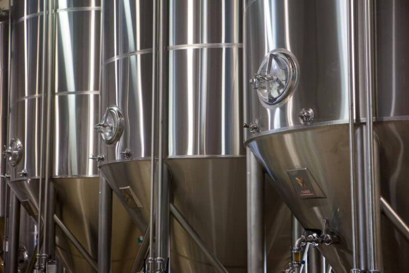 Fermenting beer in Bend, Oregon