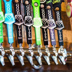 Bend beer taps