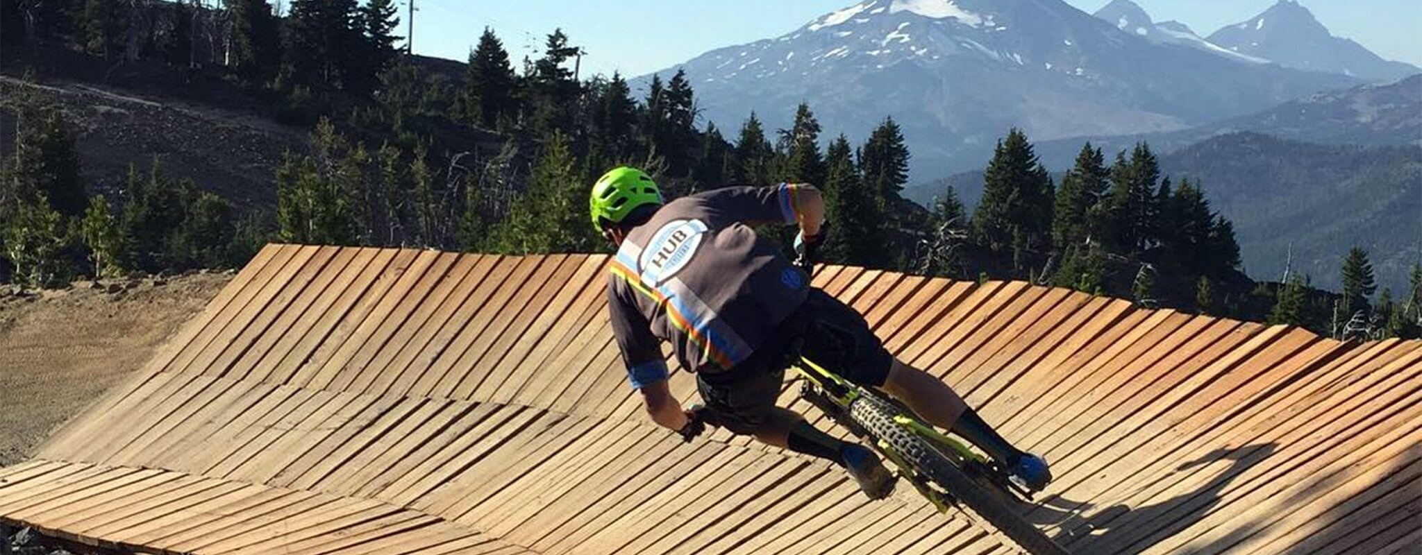 Mountain bike in Bend, Oregon