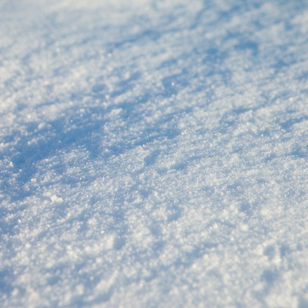 Snow fall in Bend, Oregon.