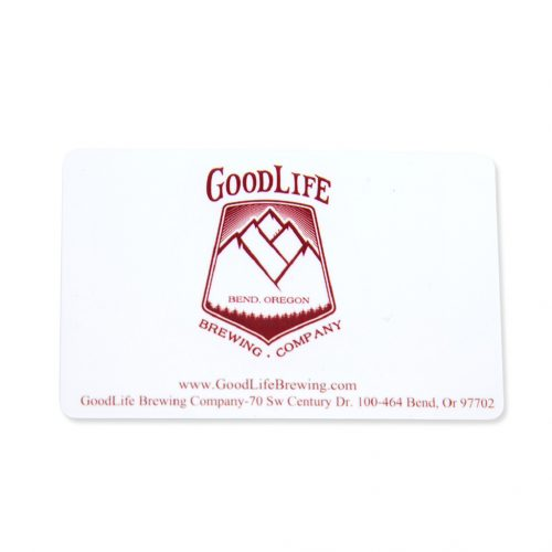 GoodLife Brewing Company Gift Card - Front