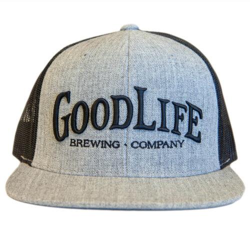 GoodLife Brewing Black & Grey Truck Hat