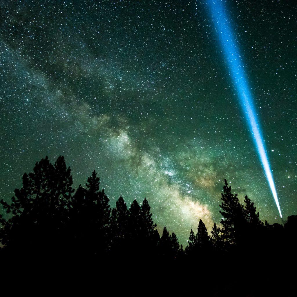 Bend, Oregon starlit night