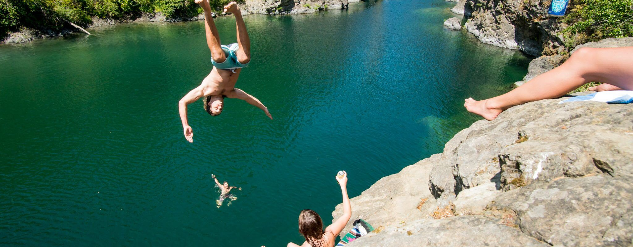 Jump into summer with Goodlife beer.