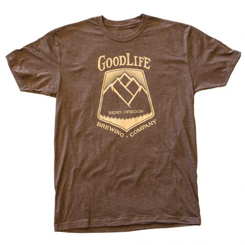 mens-goodlife-tee-in-espresso-with-tan-crest-logo
