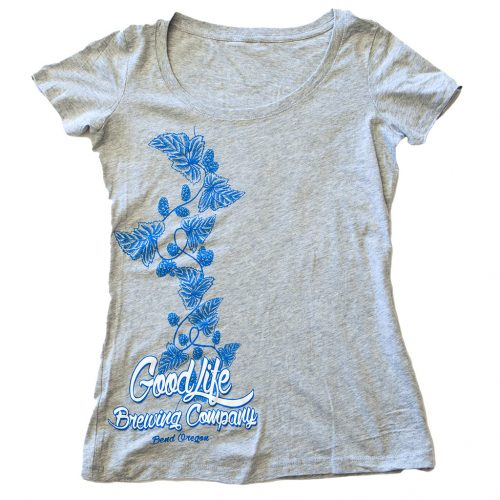 womens-goodlife-scoop-neck-tee-in-heather-gray-with-light-blue-hop-vine