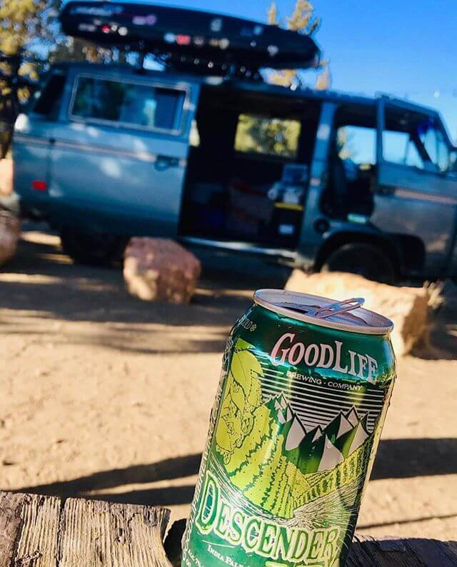 VanLife and the GoodLife is the perfect combo! 📸: @birdieandthedood