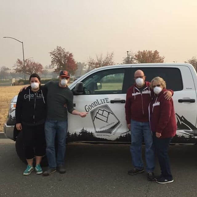 Curtis and his wife made it safely down to Butte County to drop off supplies to his family and other families who are displaced because of the Camp Fire. It's amazing to see a community outside of the one directly affected give so much to people in need. Thank you to everyone who donated supplies, we can't thank you enough!