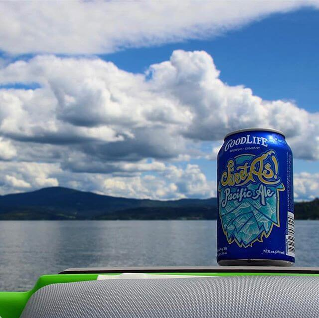 With the weather changing and each day getting colder, it looks like @heelersandhops is still getting out and living the GoodLife! 📸: @heelersandhops #sweetaspacificale