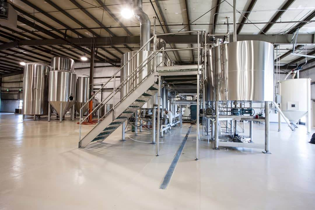 Throwback Thursday: May 2011 before we opened our doors. Sparkling clean floors, only 4 tanks of fermentation, no canning line yet, and big dreams! My how it has grown. Cheers to a GoodLife! 🍻 Photo: @dangersoup