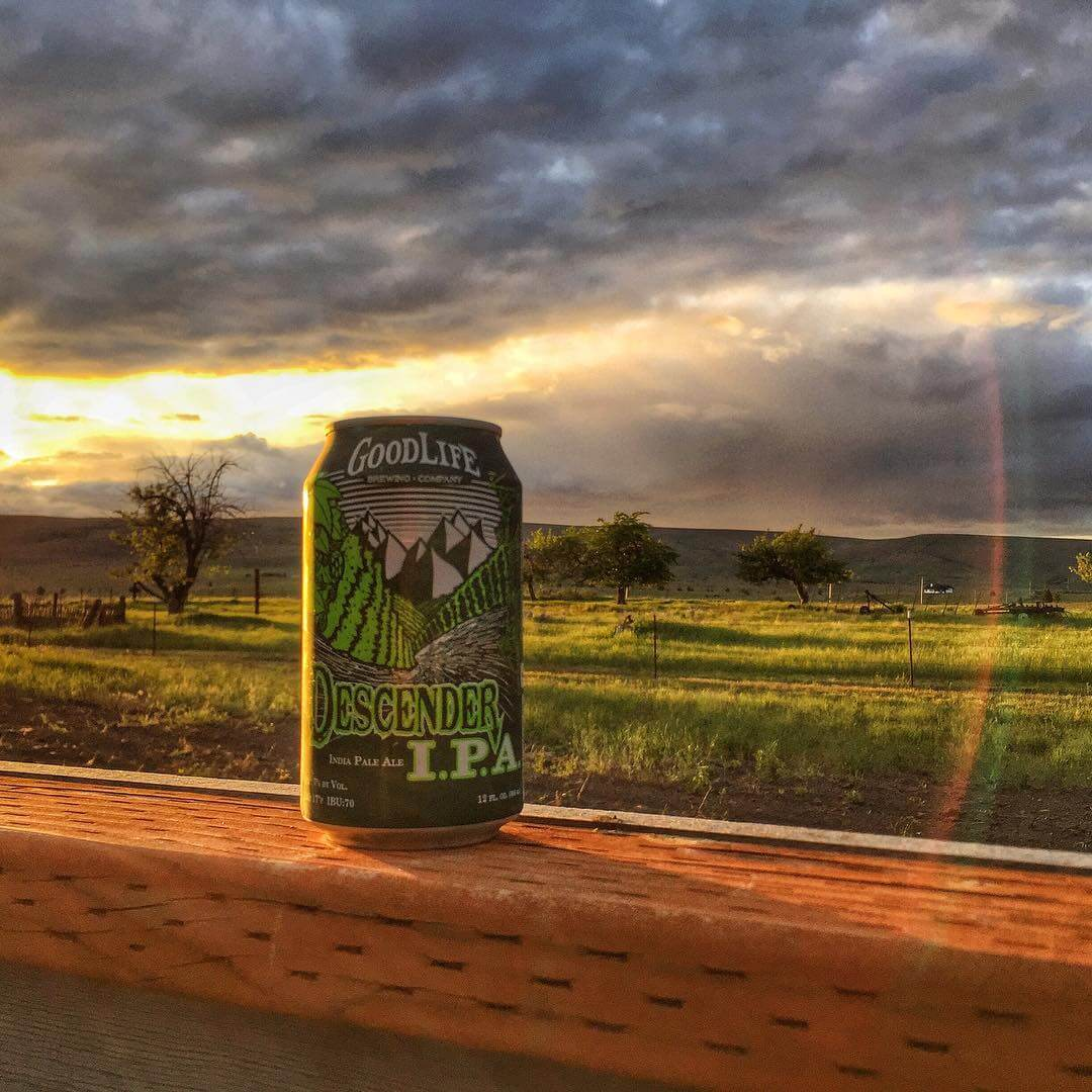 Spring has descended upon us and we can't wait for warm weather and good times! #whatsyourgoodlife #descenderipa