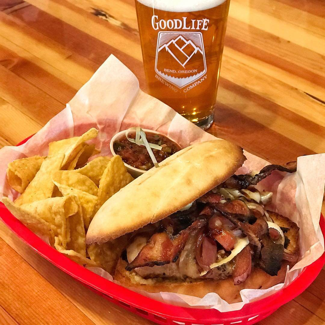 It's Locals Day! Our pub food special today is a Chicken, Bacon, Brie Sando on a Torta roll with balsamic, tomatoes, onions, and a lemon garlic aioli. Pair that with our new beer release, Key Lime Wheat Ale!  Key Lime Wheat Ale has a moderate dose of Key Lime giving this beer a subtle tartness with a quenching and refreshingly sweet finish! It's 6% ABV and 20 IBU's.