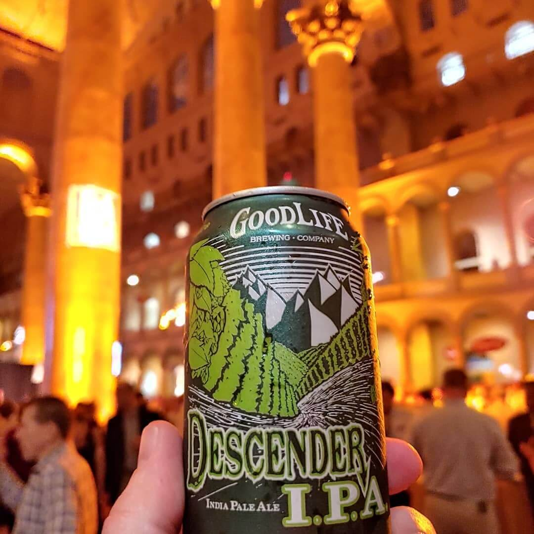 We had a great time pouring the GoodLife at Savor in the National Building Museum in Washington D.C. Thank you @brewersassoc for hosting a great event.