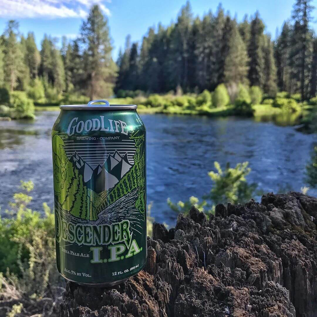 Fly fishing and Friday's are a perfect combo! Well, maybe toss in a cold Descender IPA, too!  #whatsyourgoodlife #descenderipa