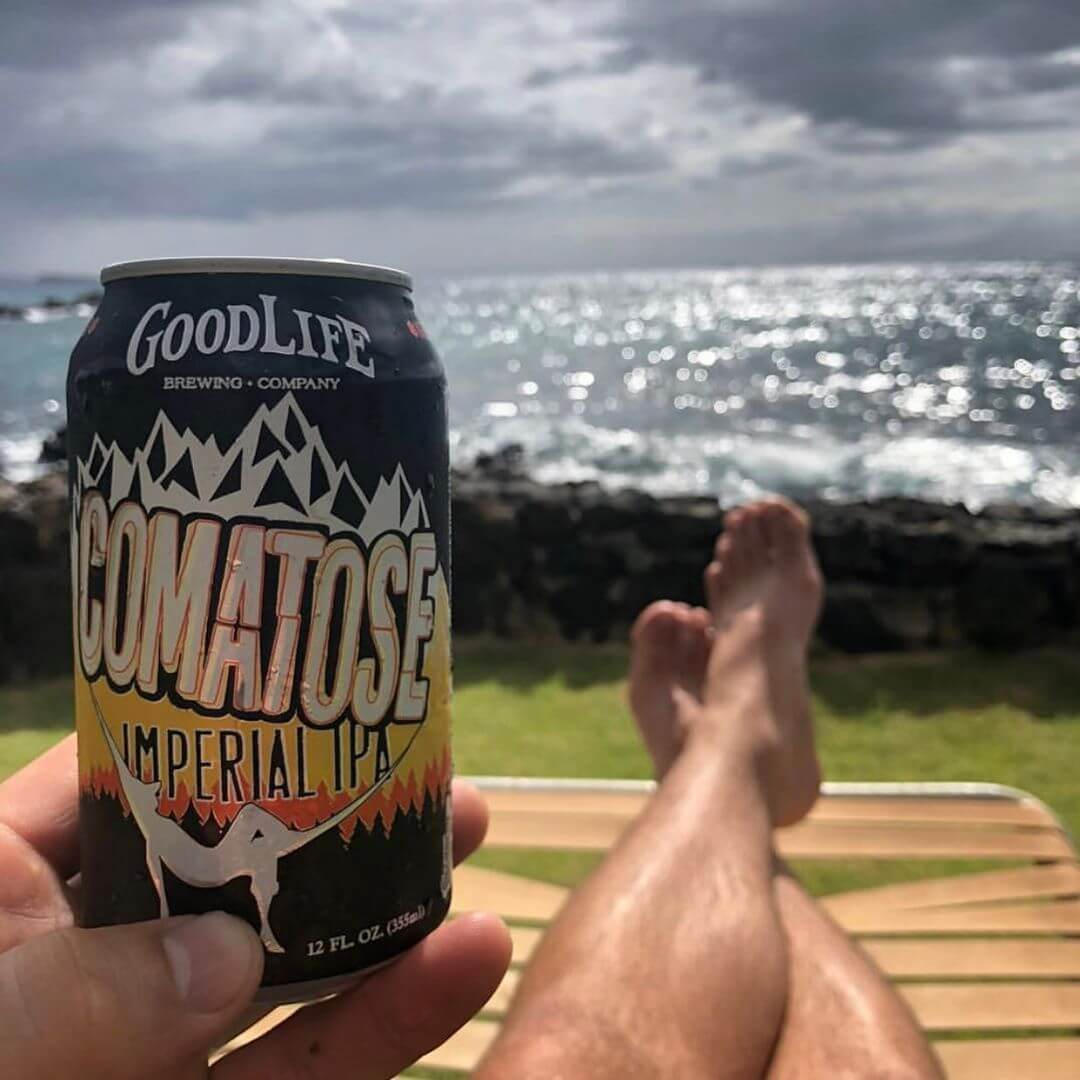 Is it just us or is anyone else jealous of this view provided by @kylerenstrom?! #whatsyourgoodlife #comatoseimperialipa