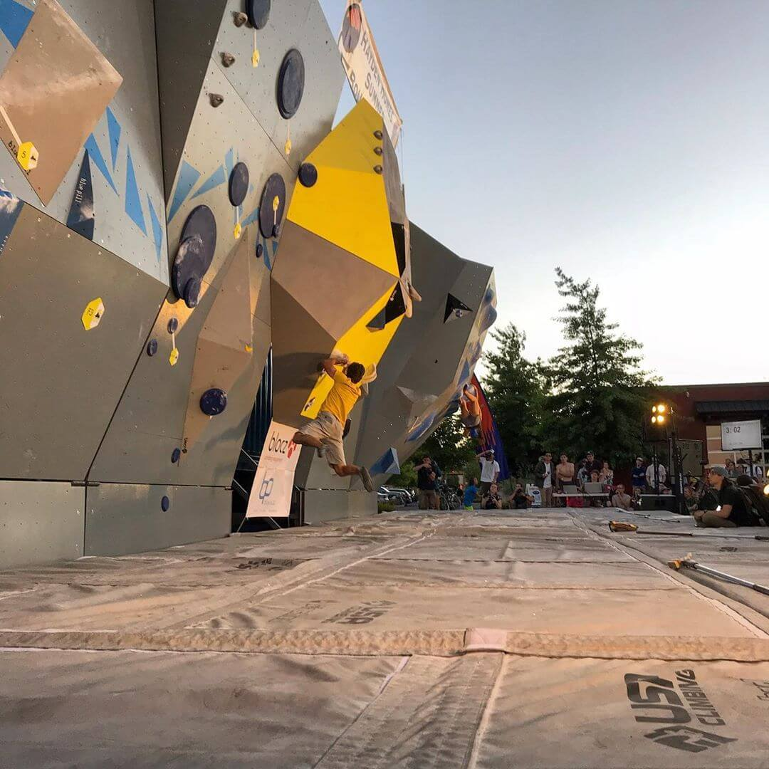 The @haydenhomesbuilder @summer_comp is happening TONIGHT at 6pm in our parking lot! There will be events for @theoutsidegames going on throughout the day with Yoga happening in the biergarten at 2pm, too! If you haven't been to one of the boulder comps yet, you won't want to miss watching some of the best climbers in the world! #goodlifebrewing #whatsyourgoodlife