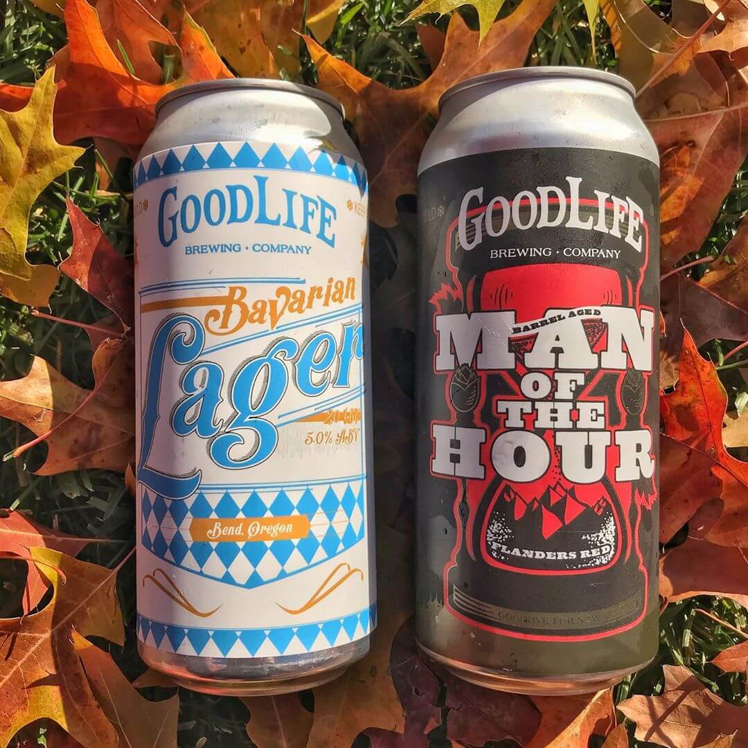 We've got some fresh crowlers of Man of the Hour Flanders Red and Bavarian Lager so be sure to swing by the pub and grab some for your weekend adventures! #goodlifebrewing #whatsyourgoodlife