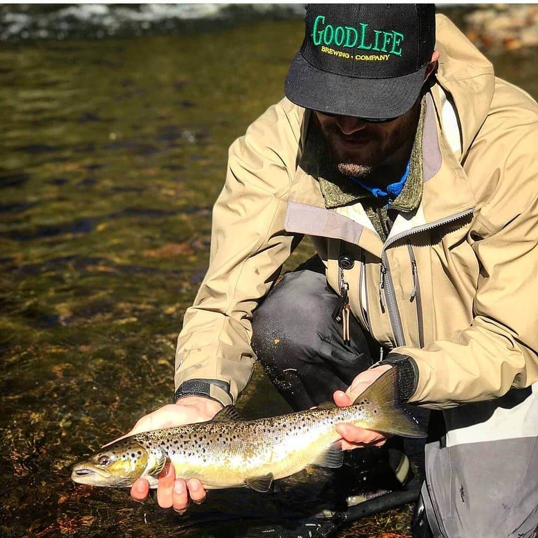 Out Enjoying That GoodLife. Great fish and pic 📷: @frittsonthefly