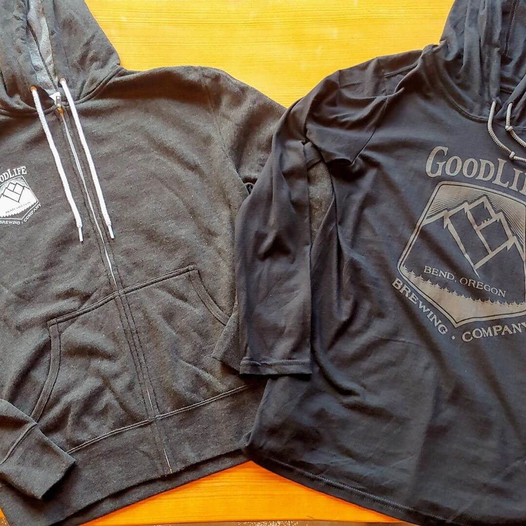 Today is the last day of our Holiday Sale online and in the Tasting Room. Just for you, it's 25% off all merchandise with automatic promo code thankyou. Head to www.goodlifebrewing.com to get your hands on some fresh new swag!