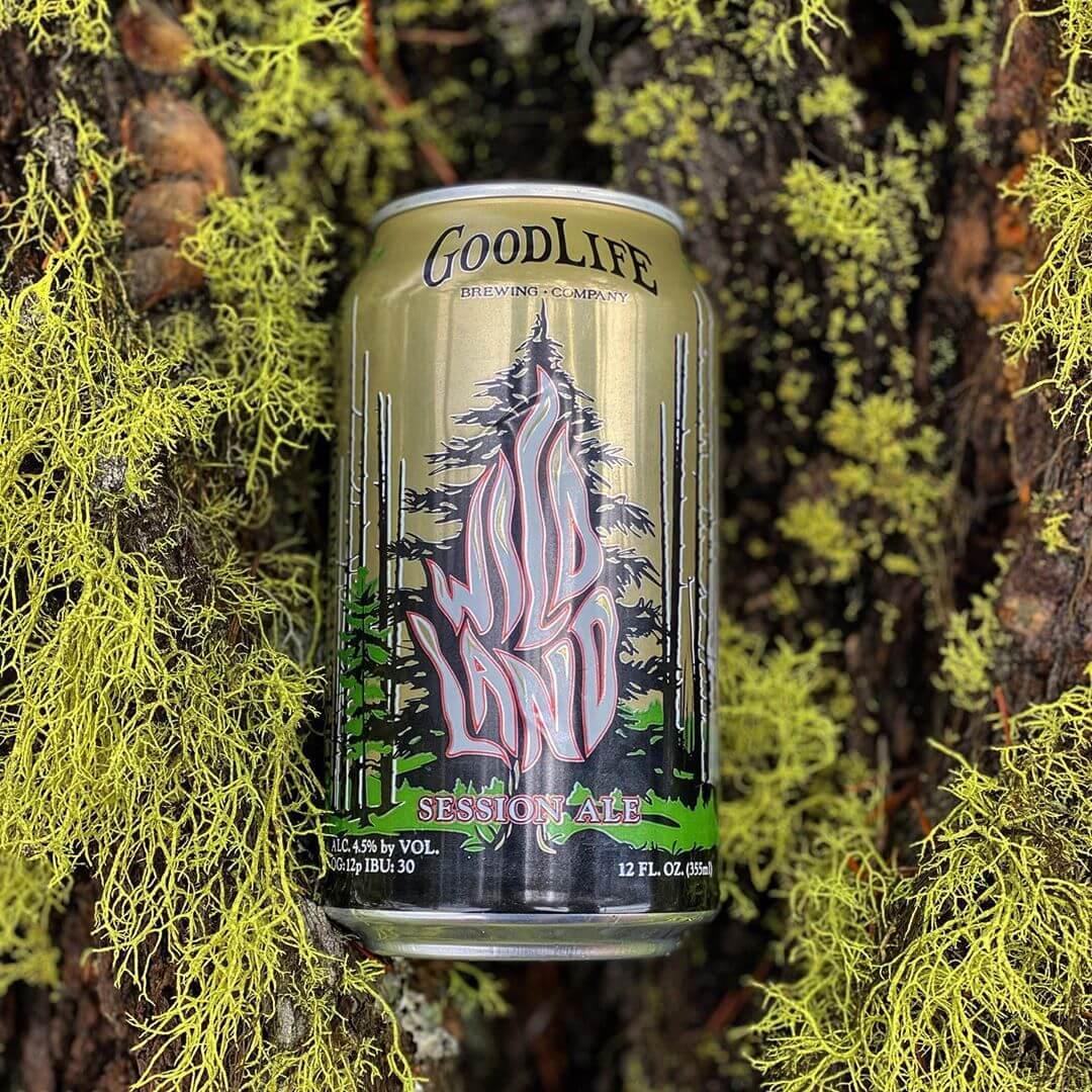 We've really been lichen Wildland lately! Have you tried it recently? We just sent some fresh cans to the market so keep an eye out for them! #goodlifebrewing #whatsyourgoodlife