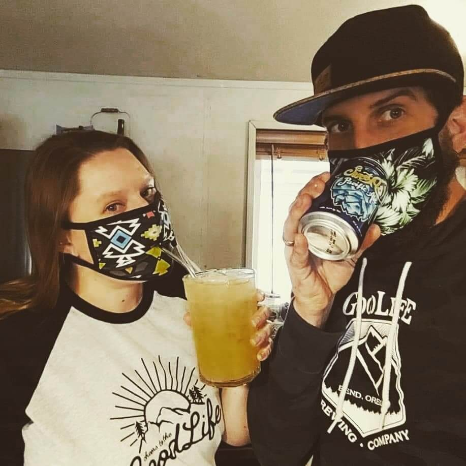 Our Mask game is strong 💪 Thanks to our @blackstrap_inc Civil Masks which by the way can be ordered on their site www.bsbrand.com
