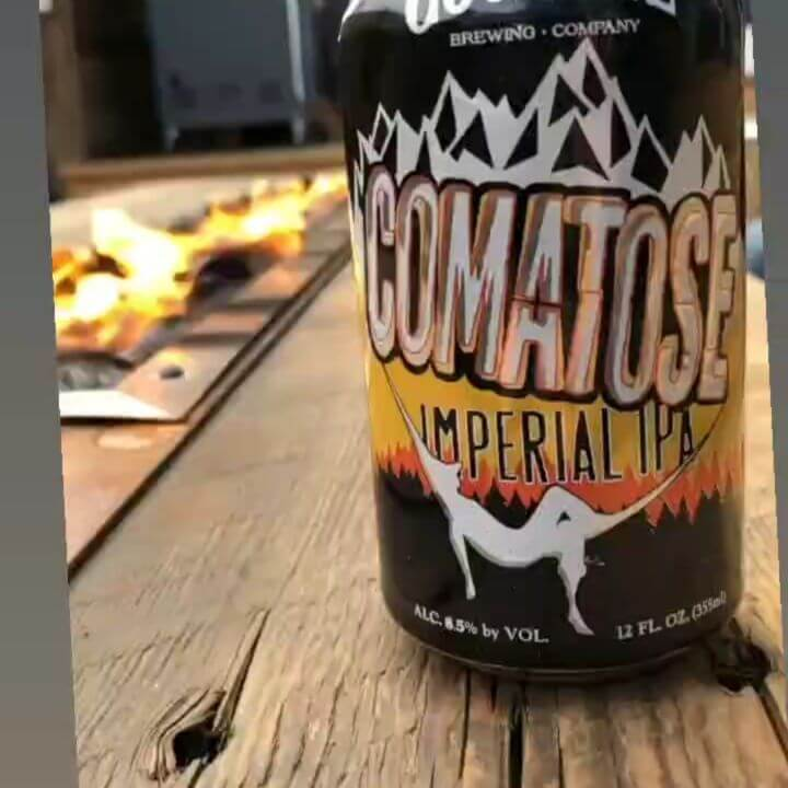 This beer is fire! 🔥  Comatose Imperial IPA 8.5% abv 95 ibu  A blend of bright fruit and melon with big notes of Meyer lemon on the nose. Medium levels of bitterness along with the heat from the higher alcohol content let the beer marry well as you analyze the flavor. A very easy drinking Imperial IPA.  #comatoseimperialipa #IPA #independentcraftbeer #cannedbeer #craftbeer #craftbeerlover #goodlife #beerstagram #beertography