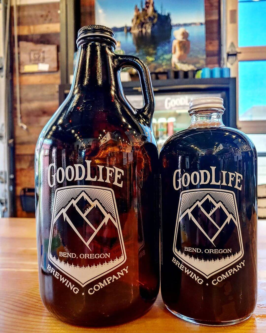 32oz Growlettes and 64 Growlers are back in stock! Lots of great deals on our draft beers to-go. Open Daily Noon – 7pm for Beer To Go!  #craftbeerlover #cannedbeer #beerme #beertography #beerstagram #growler #goodlife