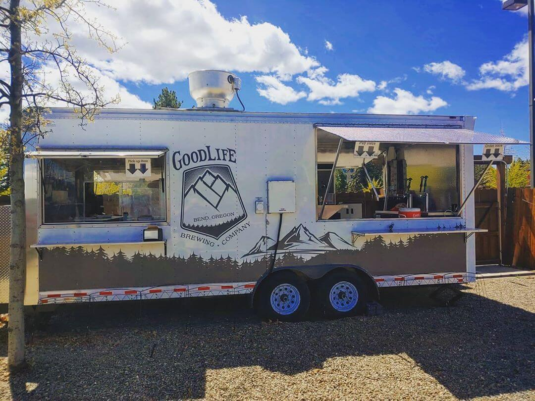 Big News! We are Opening our GoodLife Food Cart Tomorrow!  Thursday, Friday & Saturday 11am – 6pm for Food To Go Only. The Beirgarten lawn is still closed to in house dining or pints, but our Pub is still open for Beer To-Go Daily.  Food Cart To-Go Taco Menu: Beer Batter Halibut Tacos Pork Carnitas Tacos Beef Barbacoa Tacos Lengua Tacos Bbq Brisket Tacos  Also Thursday is the return of Locals Day! Every Thursday $2 Tacos To-Go 3for$6 and $9 Growler Fills To-Go in the Pub!! 😮🔥🍻