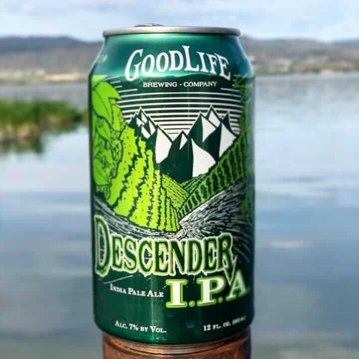 Descender Ipa looking refreshing as ever living the good life.  #cannedbeer #IPA #craftbeerlover #oregonbeer #oregoncraftbeer #descenderipa #pnw #lakelife #beertography #beerme #hops