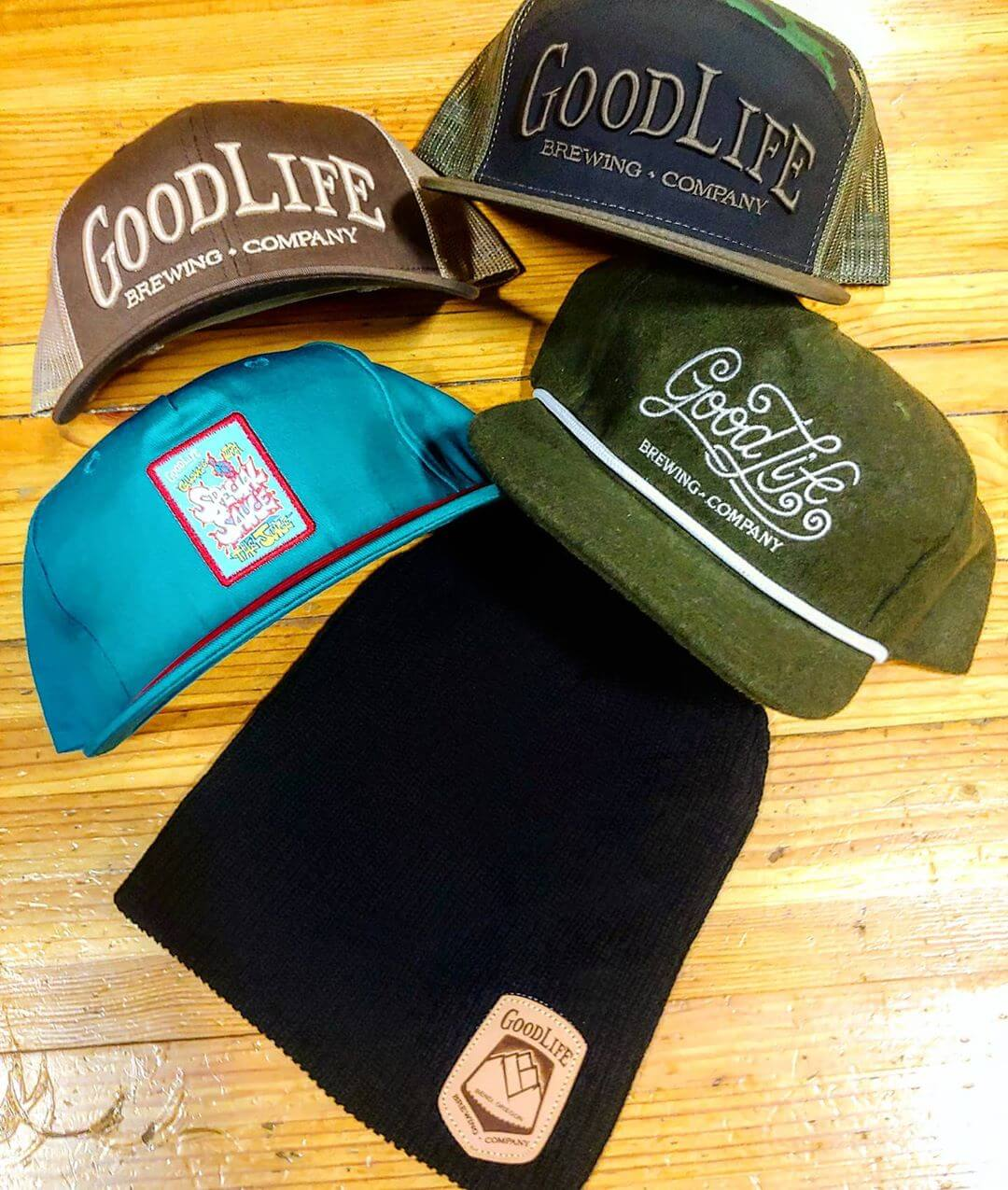 Last Chance!  Sale ends Friday.  25% off of all merchandise Online and in the Tasting Room. www.goodlifebrewing.com with Coupon Code GL25  Get an additional  20% added to your Gift Card!  For $25, Get a $30 Gift Card.  For $50, Get a $60 Gift Card.  For $75, Get a $90 Gift Card.  For $100, Get a $120 Gift Card.
