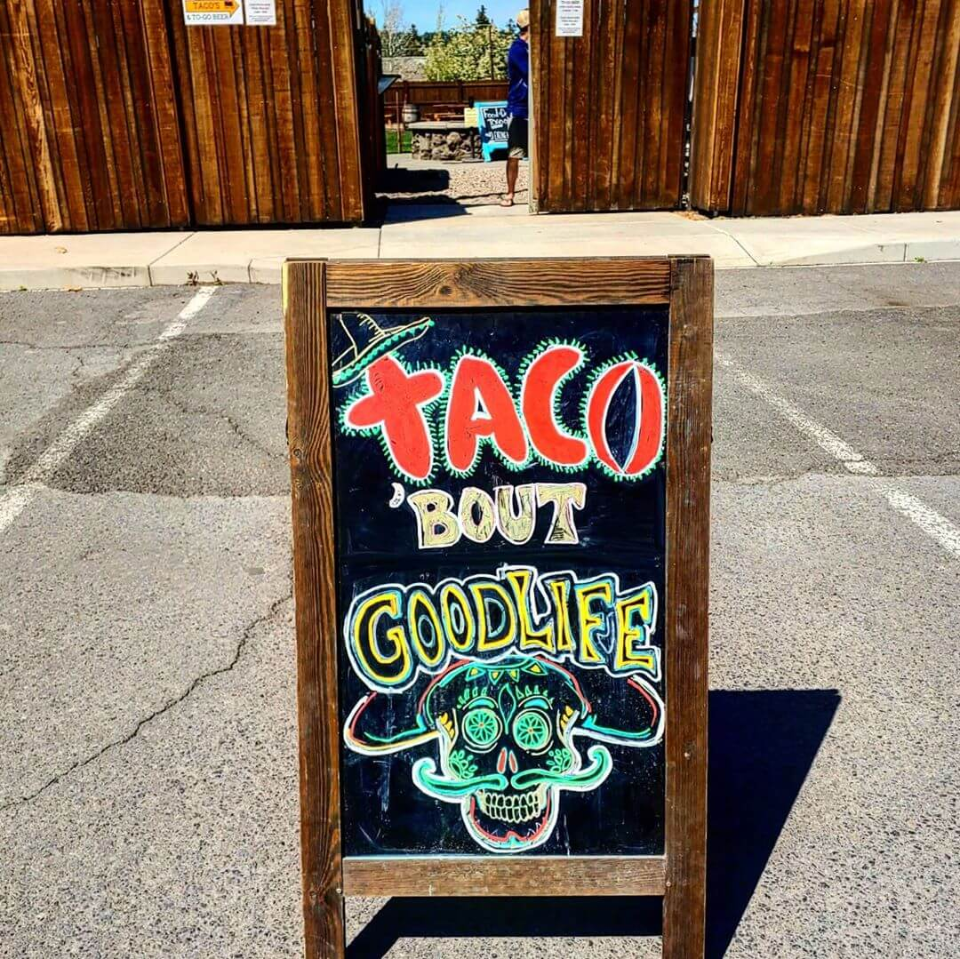 Thursday Locals Day! Tacos To-Go 11am-6pm Today. Locals Day Specials 3 Tacos for $6 – Carnitas or BBQ Burnt End Beef Brisket $9 Select Growler Fills!  More news about reopening for dine in service coming soon.