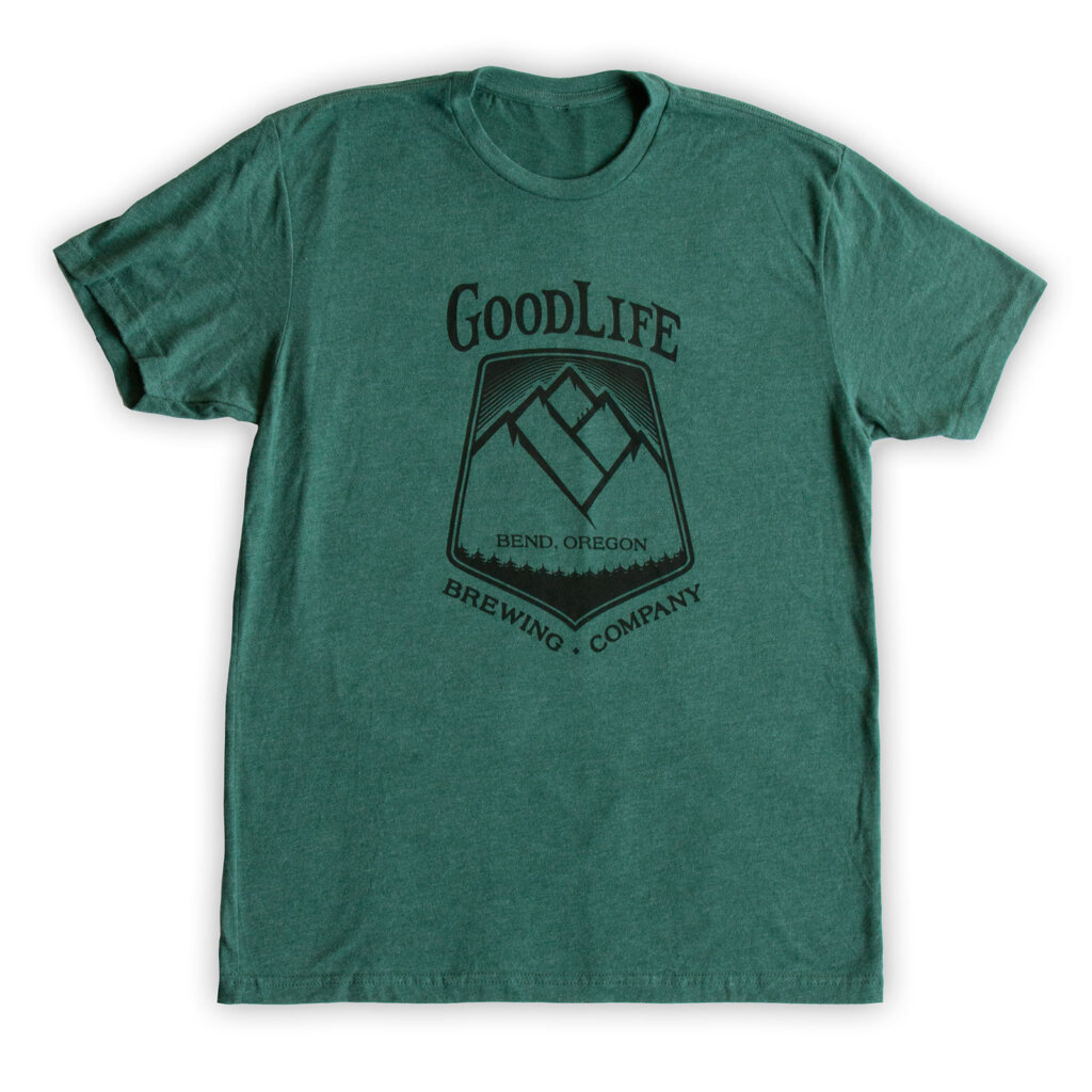 GoodLife Forest Green Tee