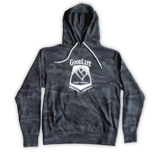 GoodLife Black Camo Unisex Hoodie