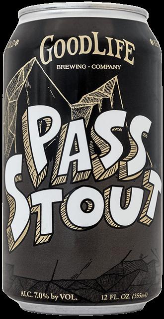 GoodLife Brewing Co. Pass Stout 12oz Can