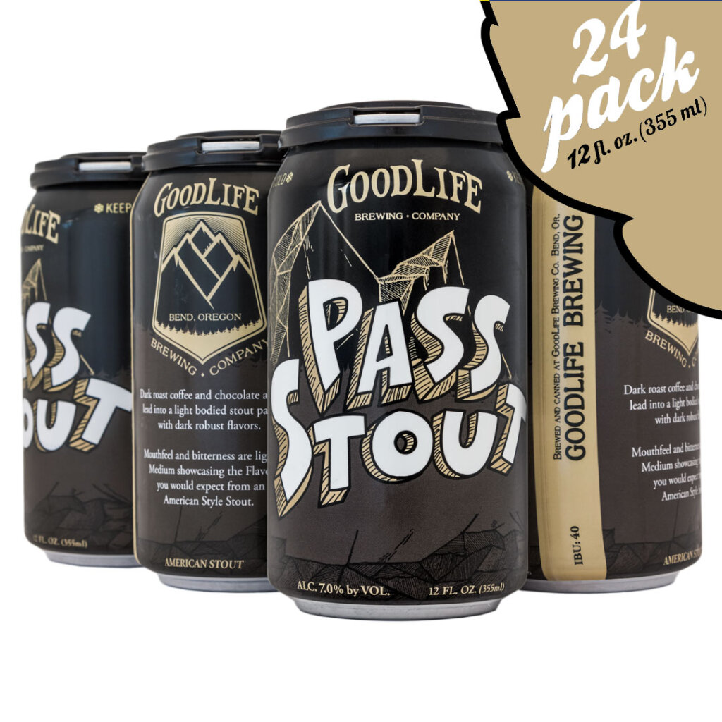 GoodLife Brewing Co. Pass Stout 24 Pack